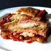 EGGPLANTS PARMIGIANA WITH BOLOGNA MORTADELLA PGI